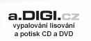 a.digi.cz CD & DVD Replication,  Duplication and Print